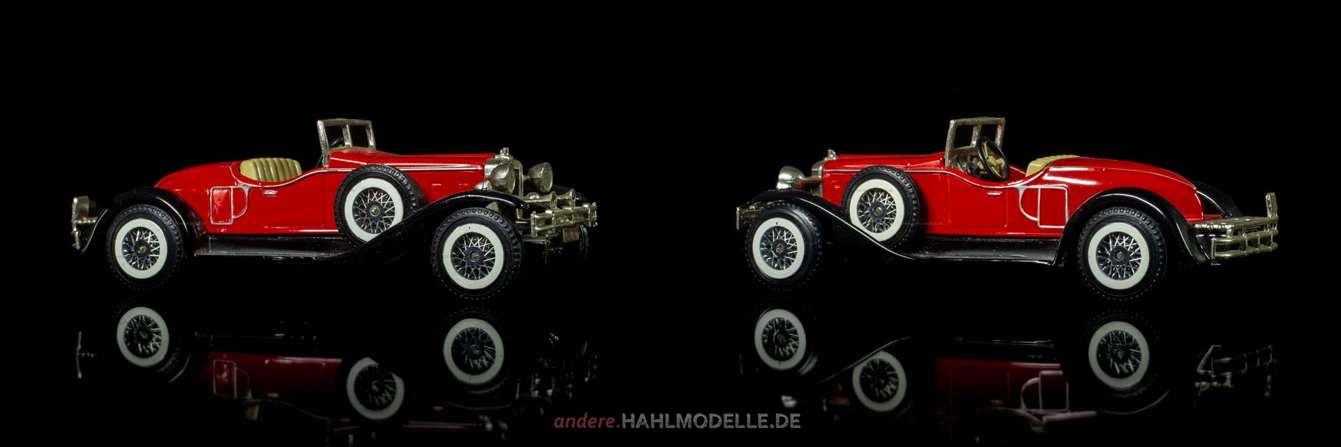 Stutz Bearcat | Roadster | Lesney Products & Co. Ltd., Matchbox – Models of Yesteryear | 1:43 | www.andere.hahlmodelle.de