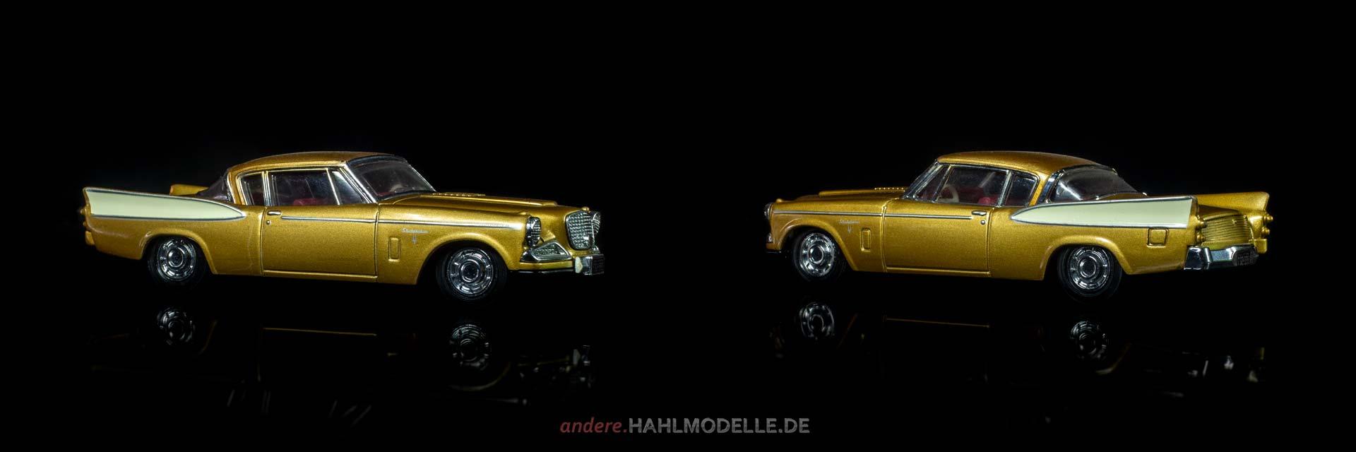 Studebaker Golden Hawk | Coupé | Matchbox / Dinky | 1:43 | www.andere.hahlmodelle.de