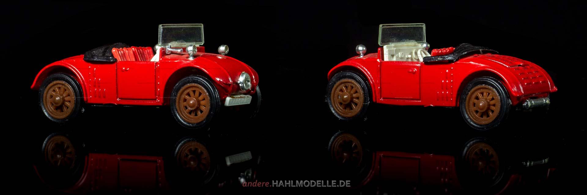 "Hanomag 2/10 PS ""Kommissbrot"" | Cabriolet | RW-Modell | 1:43 | www.andere.hahlmodelle.de"
