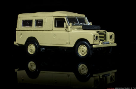 Land Rover Series III LWB | Geländewagen | Ixo (Del Prado Car Collection) | 1:43 | www.andere.hahlmodelle.de