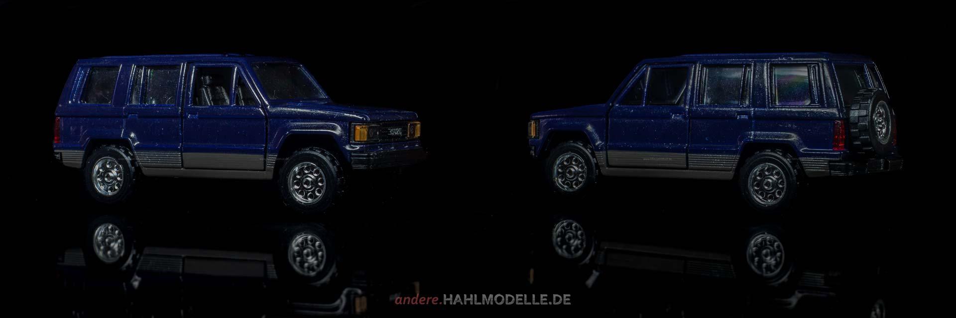 Isuzu Bighorn | Geländewagen | unbekannter Hersteller | 1:43 | www.andere.hahlmodelle.de