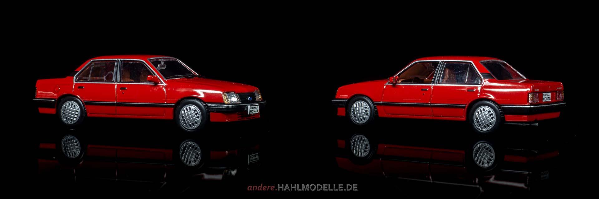 Chevrolet Monza | Limousine | Ixo (Opel Collection von Eaglemoss) | 1:43 | www.andere.hahlmodelle.de