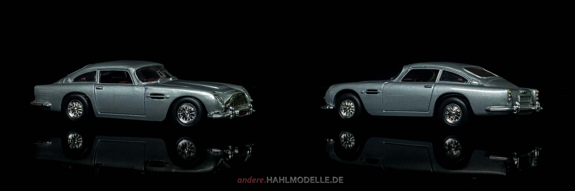 Aston Martin DB 5 | Ixo (Del Prado Car Collection) | 1:43 | www.andere.hahlmodelle.de