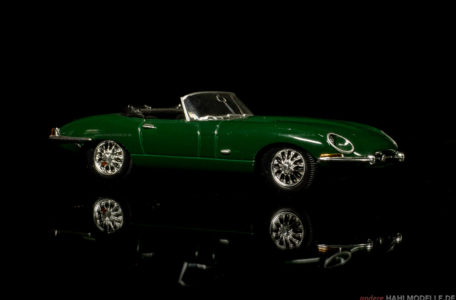 Jaguar E-Type | Roadster | Ixo (Del Prado Car Collection) | 1:43 | www.andere.hahlmodelle.de