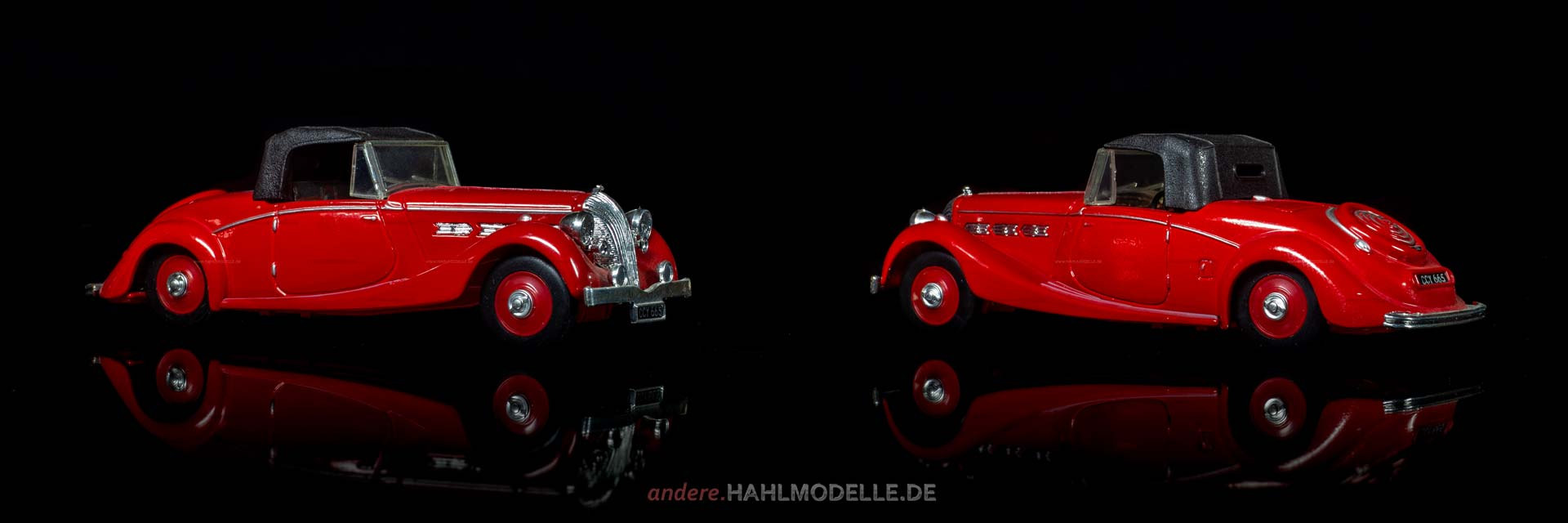 Triumph Dolomite | Roadster | Ixo (Del Prado Car Collection) | 1:43 | www.andere.hahlmodelle.de