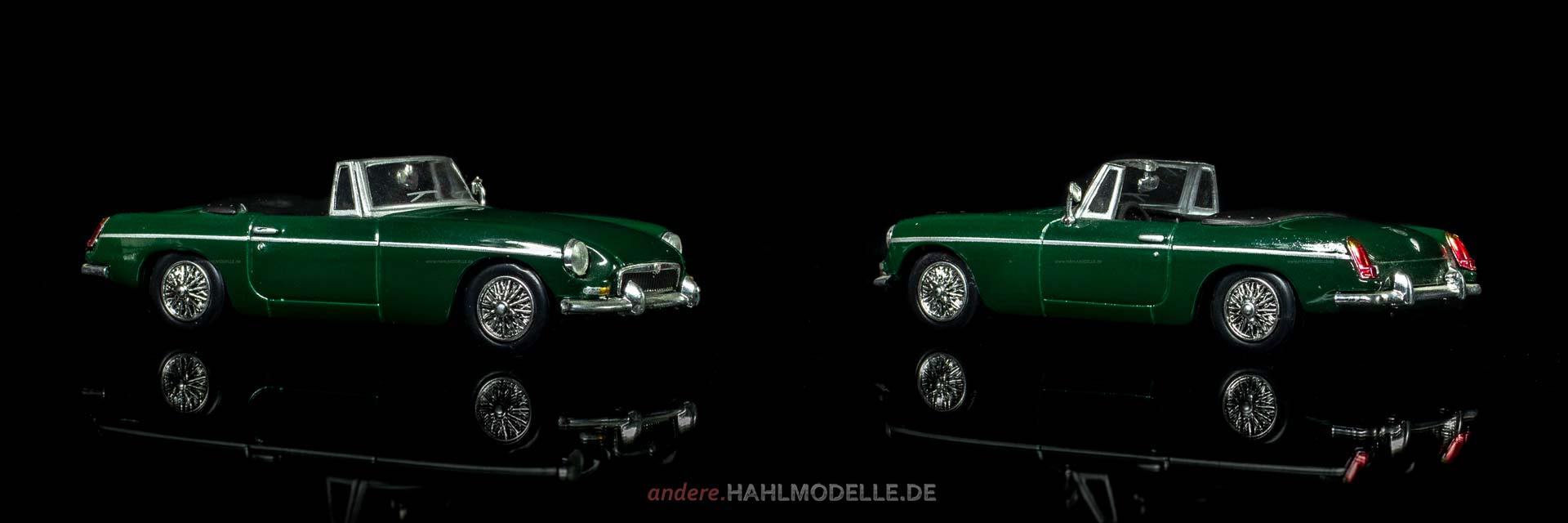 MGB | Roadster | Ixo (Del Prado Car Collection) | 1:43 | www.andere.hahlmodelle.de