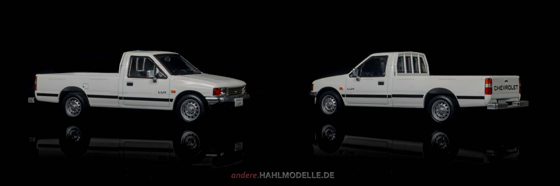 Chevrolet Luv | Pickup | Ixo (Opel Collection von Eaglemoss) | 1:43 | www.andere.hahlmodelle.de