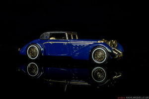 Hispano-Suiza J12/Typ 68 | Roadster (Pourtout) | Lesney Products & Co. Ltd., Matchbox – Models of Yesteryear | 1:43 | www.andere.hahlmodelle.de