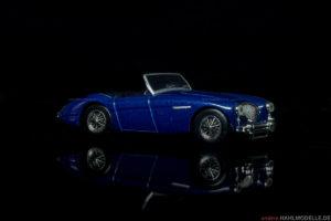 Austin-Healey 100 | Roadster | Ixo (Del Prado Car Collection) | 1:43 | www.andere.hahlmodelle.de