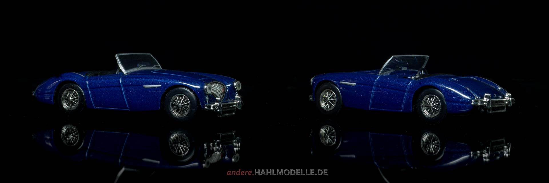 Austin-Healey 100 | Roadster | Ixo (Del Prado Car Collection) | 1:43 | www.andere.hahlmodelle.de