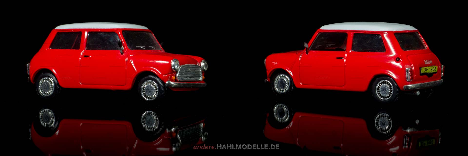 BMC Mini Cooper | Kleinwagen | Ixo (Del Prado Car Collection) | 1:43 | www.andere.hahlmodelle.de