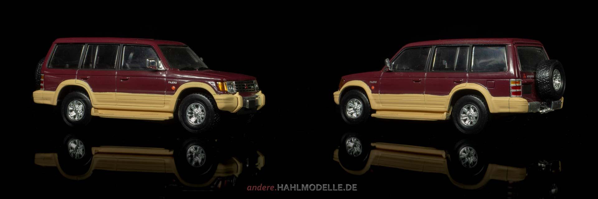 Mitsubishi Pajero | Geländewagen | Ixo (Del Prado Car Collection) | 1:43 | www.andere.hahlmodelle.de
