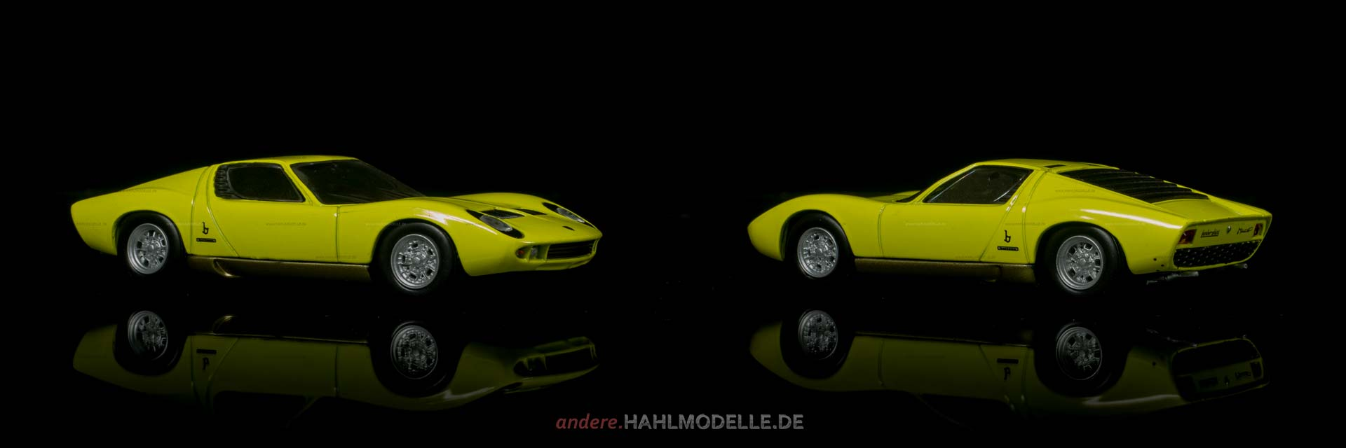 Lamborghini Miura | Coupé | Ixo (Del Prado Car Collection) | 1:43 | www.andere.hahlmodelle.de