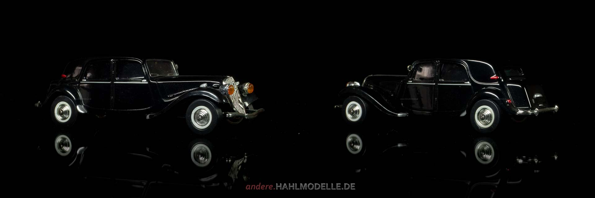 Citroën Traction Avant (11 CV) | Limousine | Ixo (Del Prado Car Collection) | 1:43 | www.andere.hahlmodelle.de