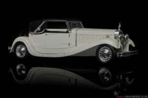 Bugatti Type 41 Royale | Cabriolet | Ixo (Del Prado Car Collection) | 1:43 | www.andere.hahlmodelle.de