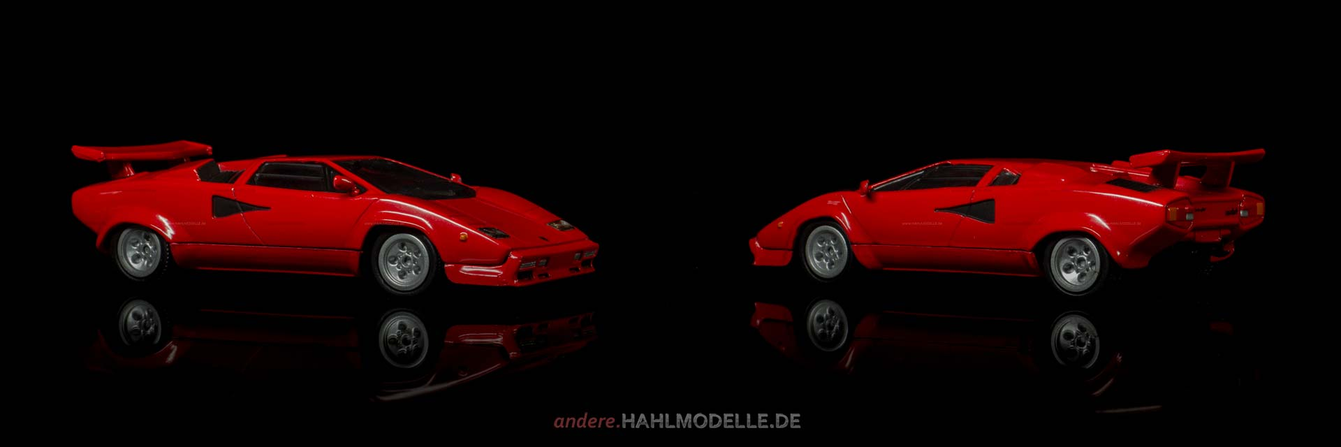 Lamborghini Countach | Coupé | Ixo (Del Prado Car Collection) | 1:43 | www.andere.hahlmodelle.de
