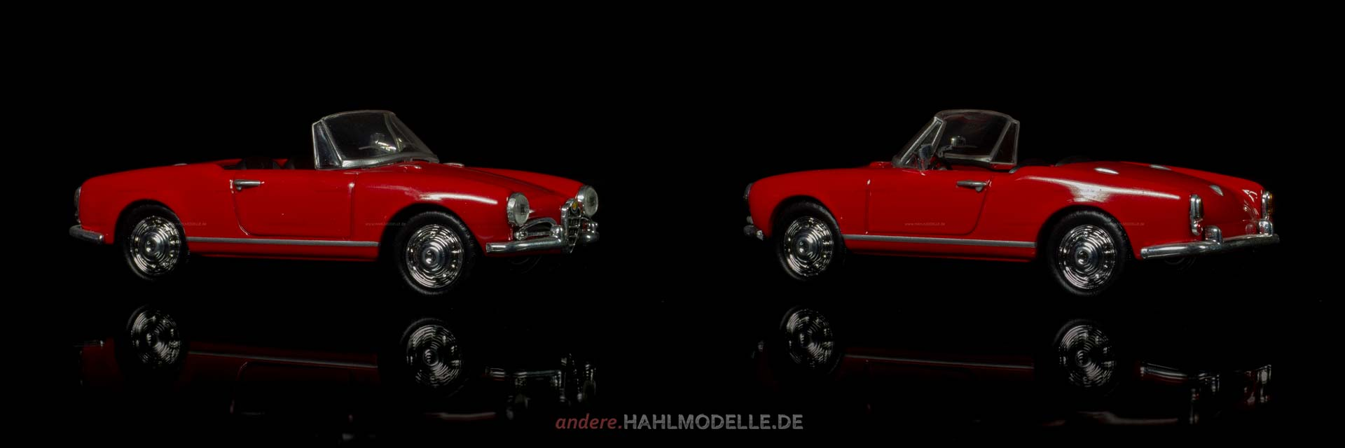 Alfa Romeo Giulietta (750/101) Spider | Roadster | Ixo (Del Prado Car Collection) | 1:43 | www.andere.hahlmodelle.de