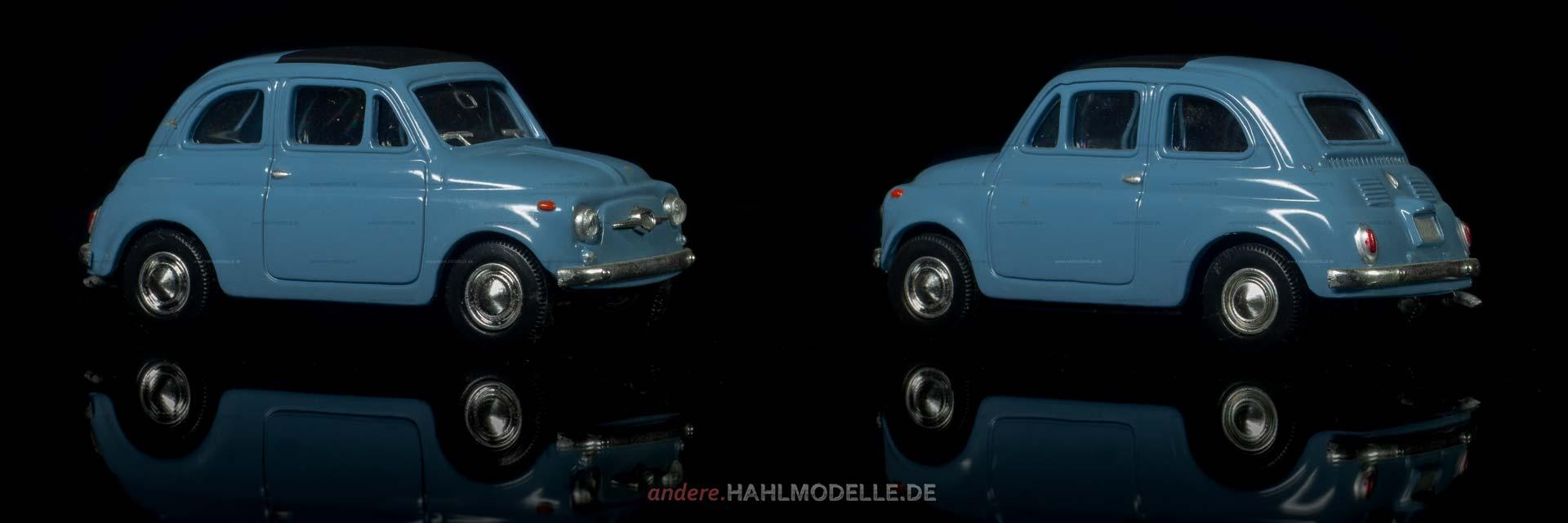 FIAT Nouva 500 | Kleinwagen | Ixo (Del Prado Car Collection) | 1:43 | www.andere.hahlmodelle.de