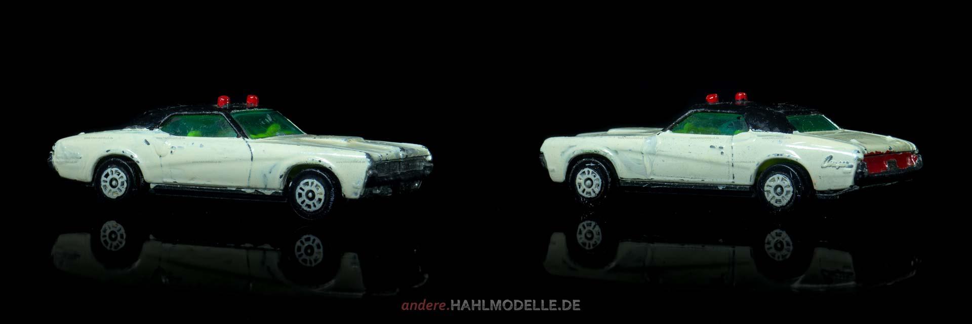 Mercury Cougar XR7 | Coupé | Mettoy Playcraft Ltd. | 1:64 | www.andere.hahlmodelle.de