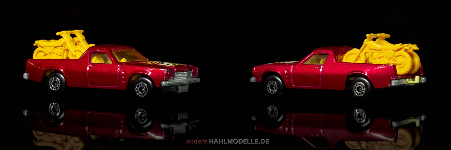 Holden Utility HJ | Pickup | Lesney Products & Co. Ltd. | Matchbox Superfast Holden Pickup GF | www.andere.hahlmodelle.de