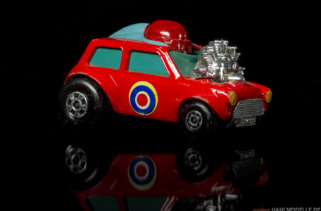 BMC Mini | Kleinwagen | Lesney Products & Co. Ltd. | Matchbox Superfast Mini-HA-HA | www.andere.hahlmodelle.de