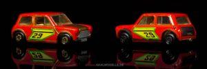 BMC Mini   Kleinwagen   Lesney Products & Co. Ltd.   Matchbox Superfast Racing Mini   www.andere.hahlmodelle.de