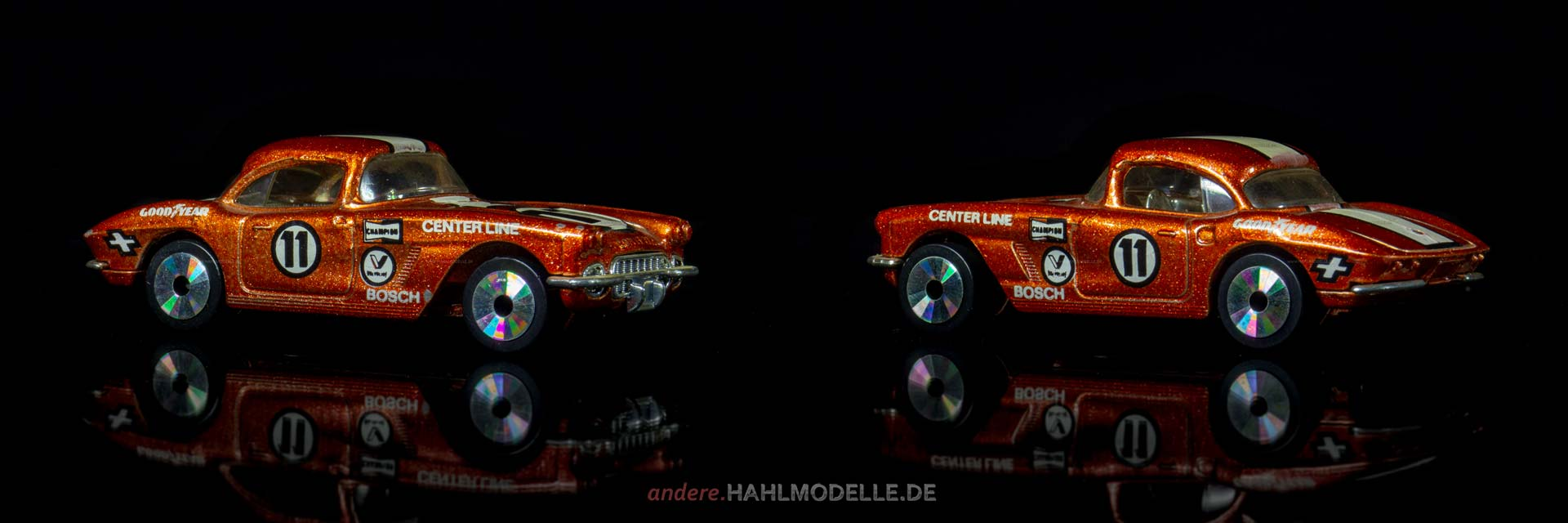 Chevrolet Corvette C1 | Roadster | Matchbox Toys Ltd. | Matchbox Laser Wheels | www.andere.hahlmodelle.de