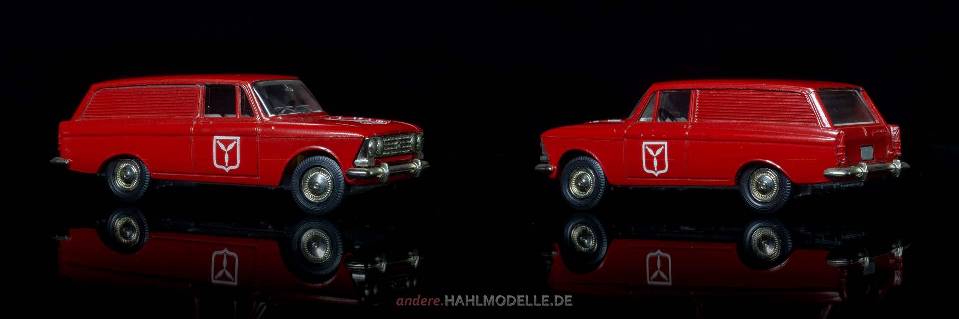 MZMA / AZLK Moskwitsch 433 | Kastenwagen | Novoexport | 1:43 | www.andere.hahlmodelle.de