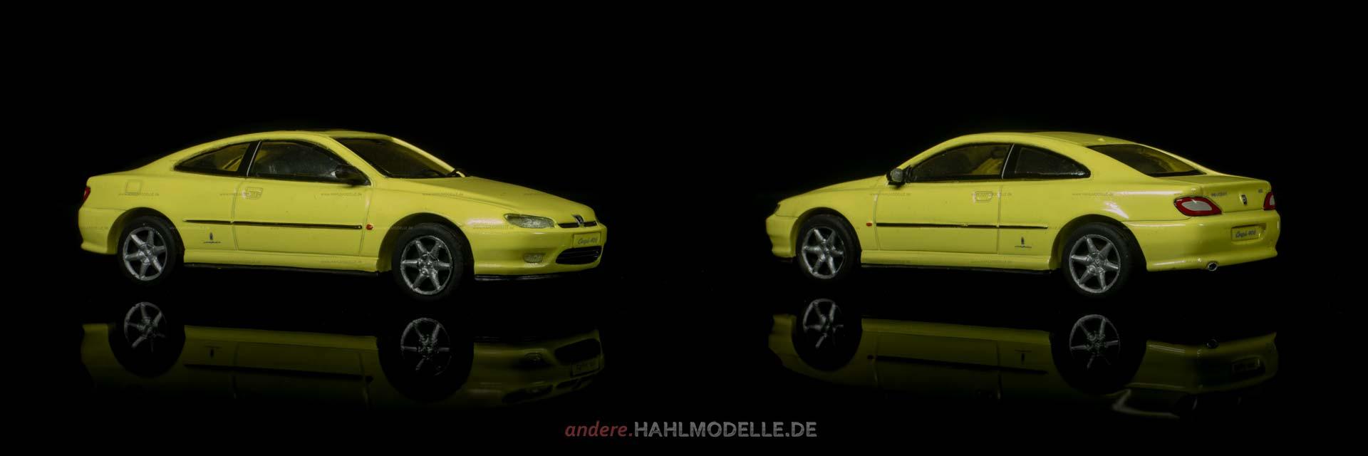Peugeot 406 | Coupé | Starter | 1:43 | www.andere.hahlmodelle.de