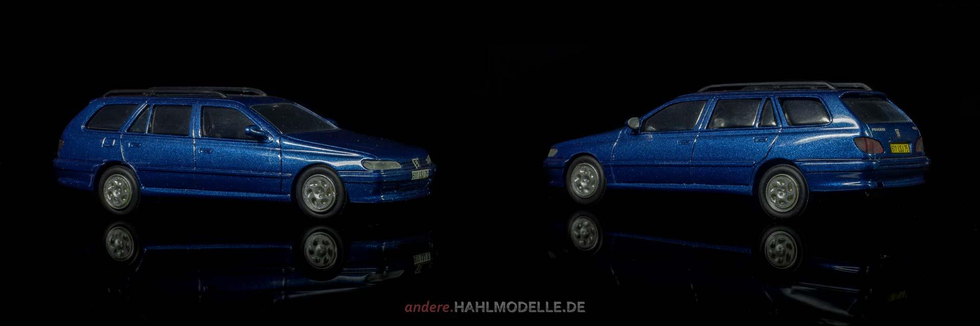 Peugeot 406 Break | Kombi | Paradcar | 1:43 | www.andere.hahlmodelle.de