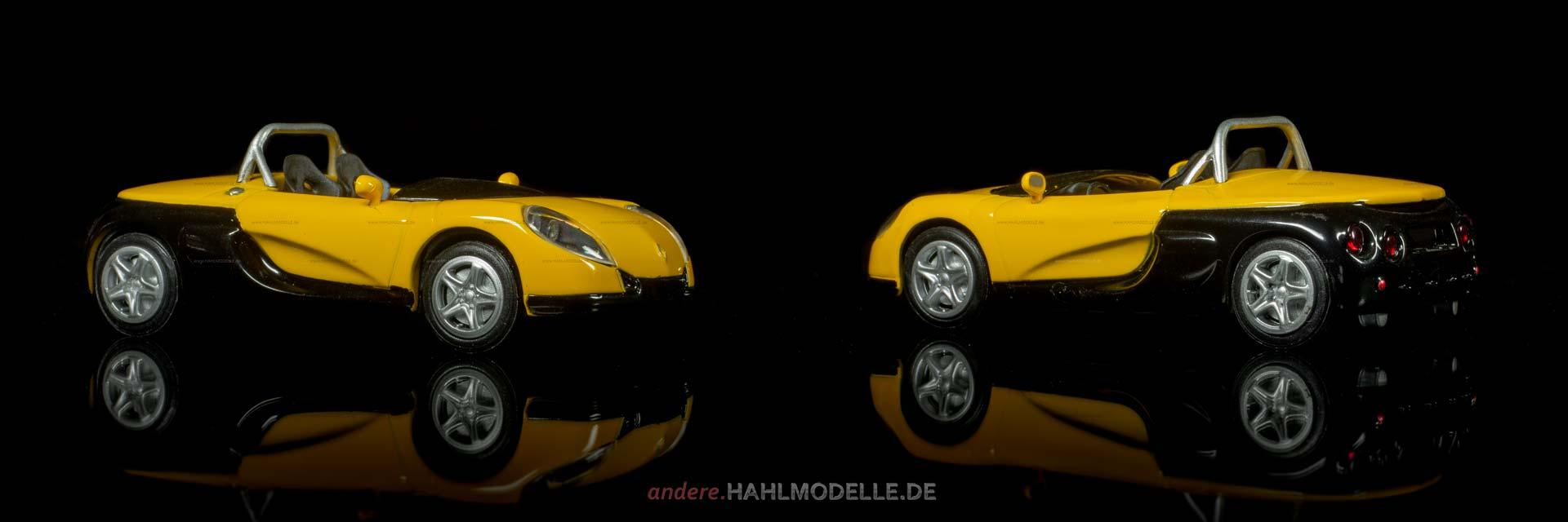 Renault Sport Spider | Roadster | Ixo | 1:43 | www.andere.hahlmodelle.de