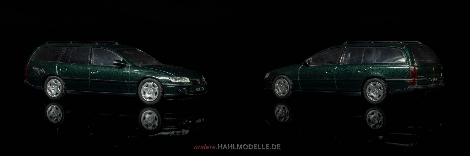 Vauxhall Omega Estate | Kombi | Schuco | 1:43 | www.andere.hahlmodelle.de