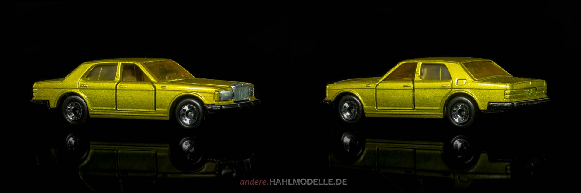 Rolls-Royce Silver Spirit | Limousine | Matchbox Toys Ltd. | 1:69 | www.andere.hahlmodelle.de