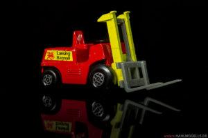 """Lansing Bagnall 43588   Gabelstapler   Lesney Products & Co. Ltd.   Matchbox Superfast """"Fork Lift Truck""""   1:62   www.andere.hahlmodelle.de"""
