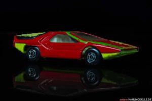 "Alfa Romeo Carabo | Sportwagen | Lesney Products & Co. Ltd. | Matchbox Superfast Streakers ""Alfa Carabo"" | 1:56 | www.andere.hahlmodelle.de"