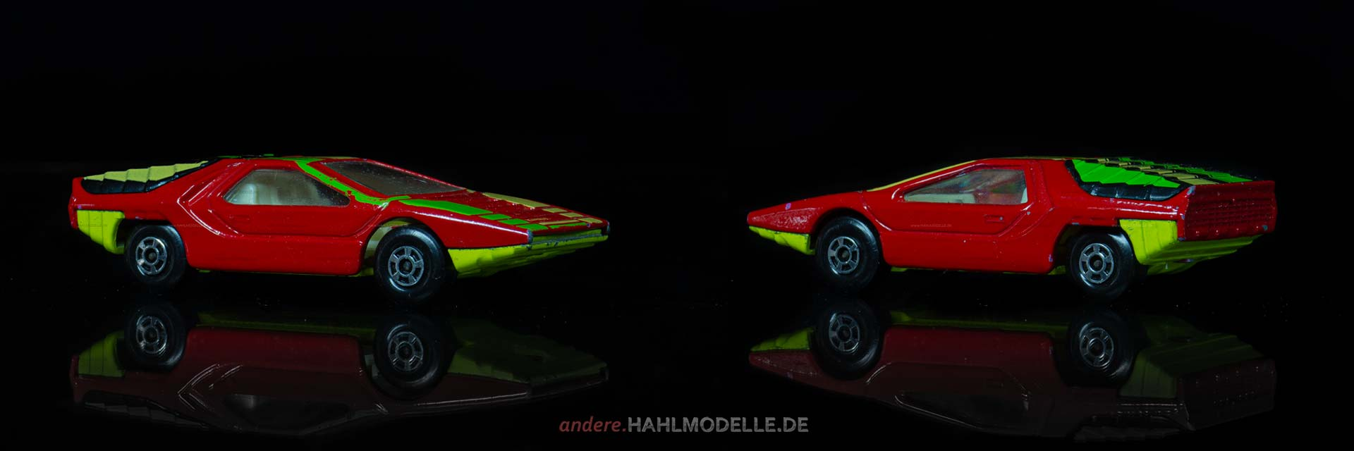 "Alfa Romeo Carabo | Sportwagen | Lesney Products & Co. Ltd. | Matchbox Superfast Streakers ""Alfa Carabo"" 