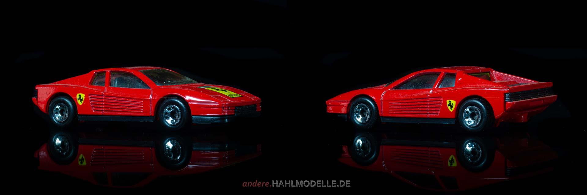 Ferrari Testarossa | Sportwagen | Matchbox Toys Ltd. | 1:59 | www.andere.hahlmodelle.de
