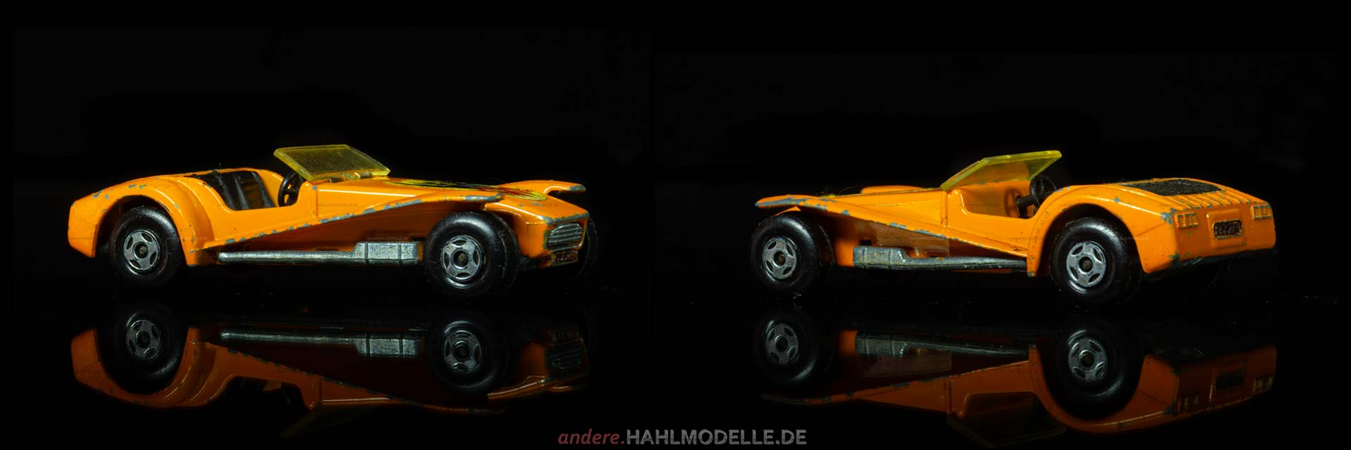 "Lotus Seven | Roadster | Lesney Products & Co. Ltd. | 1:51 | Matchbox Superfast ""Lotus Super Seven"" 