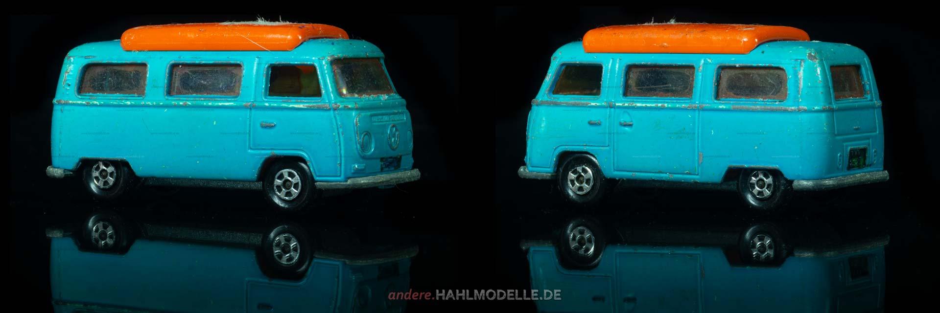 "Volkswagen Bulli (Typ 2 T2a) | Bus | Lesney Products & Co. Ltd. | 1:51 | Matchbox Superfast ""Volkswagen Camper"" | www.andere.hahlmodelle.de"