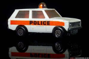 "Range Rover | Geländewagen | Lesney Products & Co. Ltd. | Matchbox Rolamatics ""Police Patrol"" | 1:61 | www.andere.hahlmodelle.de"
