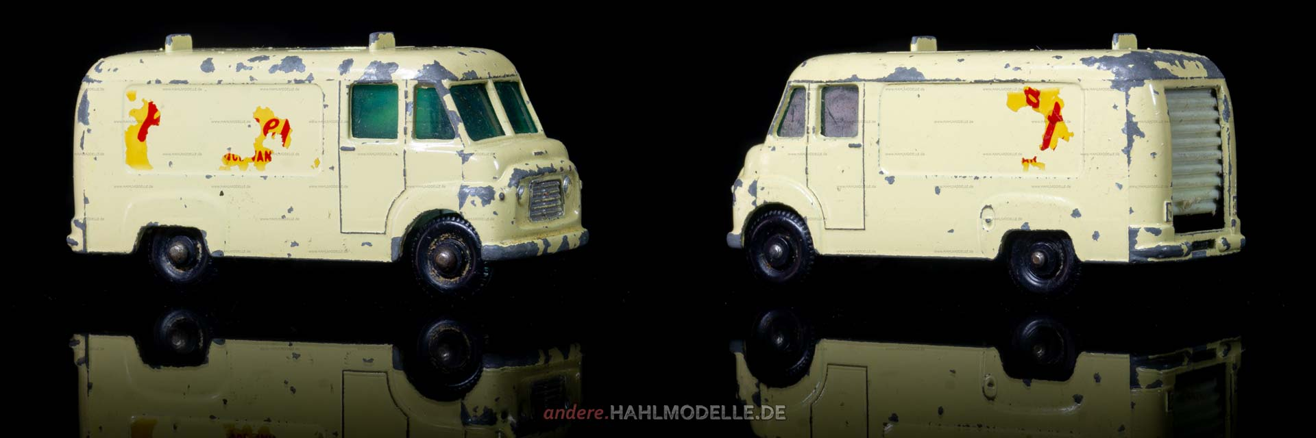 "Commer BF | Kastenwagen | Lesney Products & Co. Ltd. | 1:64 | Matchbox ""T.V. Service Van"" 