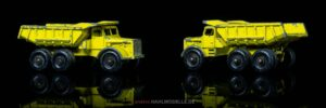 "Euclid Truck R24 (10-Wheel Quarry Truck) | Muldenkipper | Lesney Products & Co. Ltd. | 1:46 | Matchbox ""Euclid Dump Truck"" | www.andere.hahlmodelle.de"