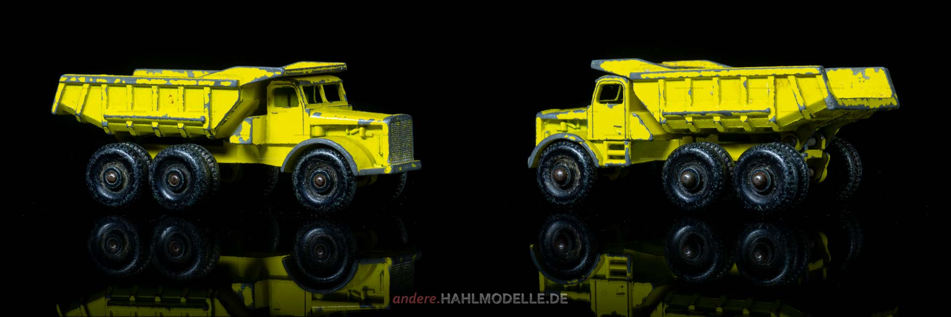 "Euclid Truck R24 (10-Wheel Quarry Truck) | Muldenkipper | Lesney Products & Co. Ltd. | 1:46 | Matchbox ""Euclid Dump Truck"" 