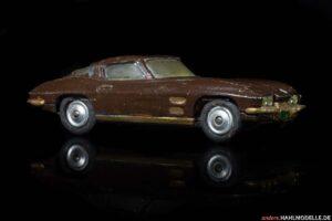 "Chevrolet Corvette C2 ""Sting Ray""   Coupé   Mettoy Playcraft Ltd.   1:43   www.andere.hahlmodelle.de"