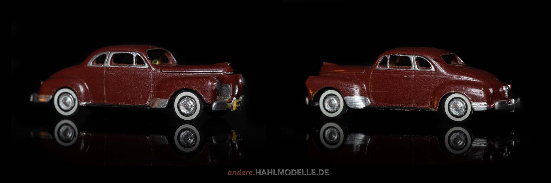Plymouth Special Deluxe Coupé (P 12) | Coupé | Alloy Forms Inc. | 1:87 | www.andere.hahlmodelle.de