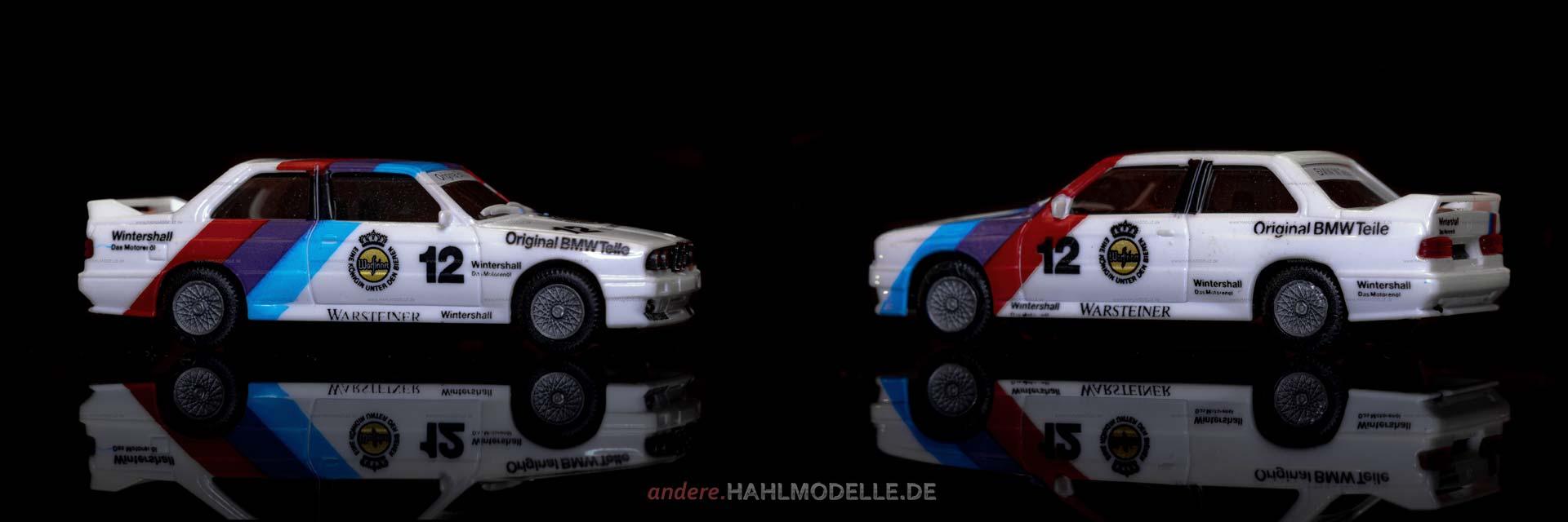 BMW M3 (E30) | Limousine | Motorsport | Herpa | 1:87 | www.andere.hahlmodelle.de