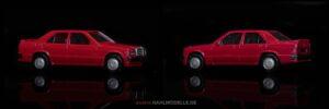 Mercedes-Benz 190E (W201) 2.3-16 | Limousine | Herpa | 1:87 | www.andere.hahlmodelle.de