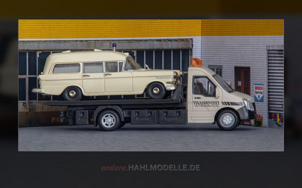Iveco Daily V mit Opel Kapitän P 2,5 Krankenwagen