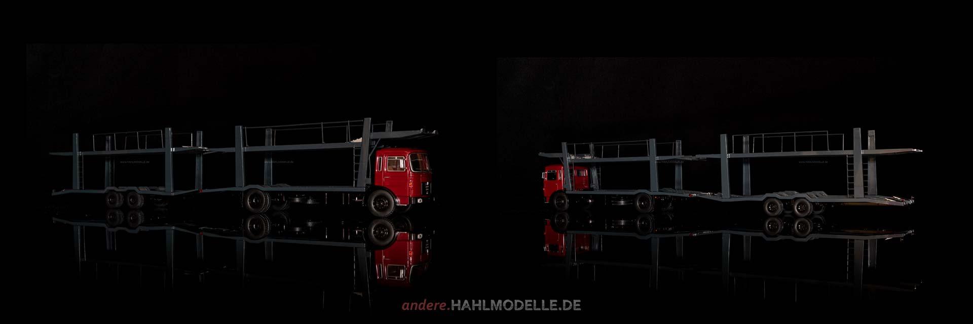 MAN F7 | LKW Autotransporter | Ixo | 1:43 | www.andere.hahlmodelle.de