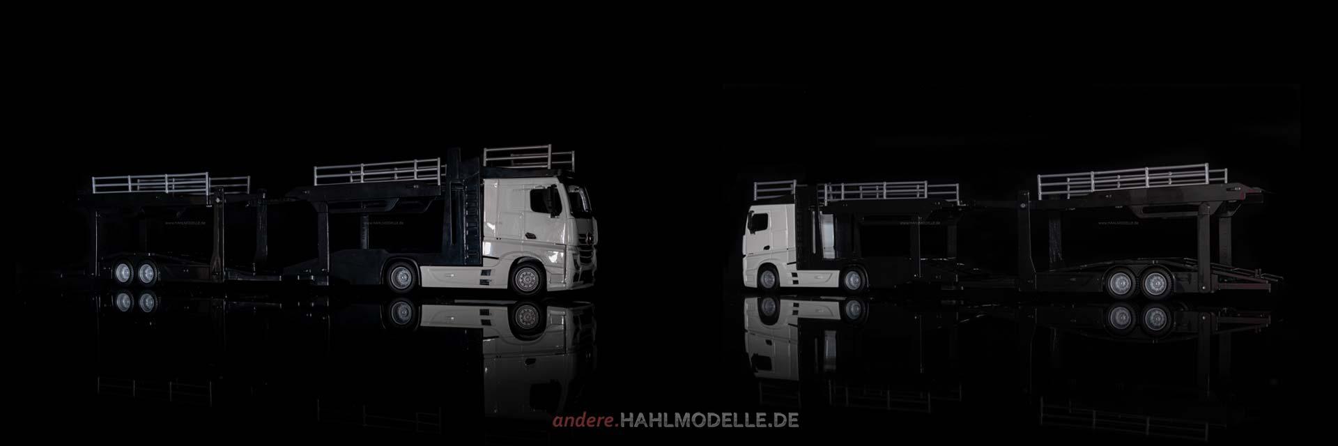 Mercedes-Benz Actros (BM 963) | LKW Autotransporter | Bburago | 1:43 | www.andere.hahlmodelle.de